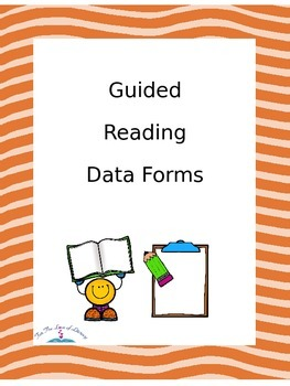 Guided Reading Data Forms