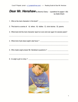 Worksheets Dear Mr Henshaw Worksheets dear mr henshaw worksheets tic tac toe activity sheet activities student worksheets