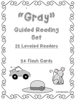 Color Book: Guided Reading Differentiated Sight Word and Leveled Color Set: Gray