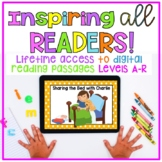 Guided Reading Digital Passages Levels A- R (Fiction and Nonfiction)