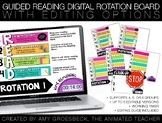Guided Reading Digital Rotation Board