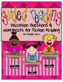 Guided Reading Discussion Questions and Printables for Fiction Reading