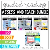 Guided Reading Lesson Plans and Books: Assess and Teach BUNDLE