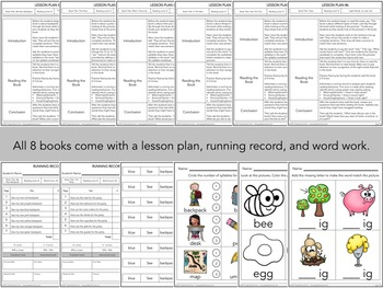 Guided Reading - Early Emergent Readers - Level B - Set 1
