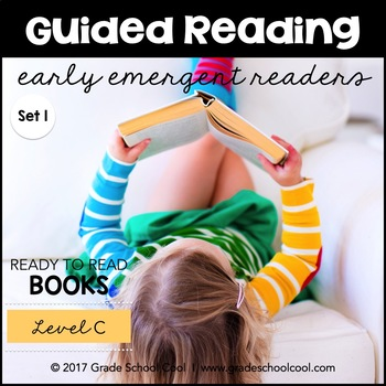 Guided Reading - Early Emergent Readers - Level C - Set 1