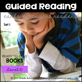 Guided Reading - Early Emergent Readers - Level D - Set 1