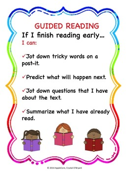 Guided Reading Poster