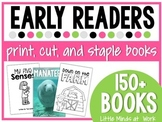 Guided Reading Easy Readers BUNDLED SET TWO {print, cut, staple}