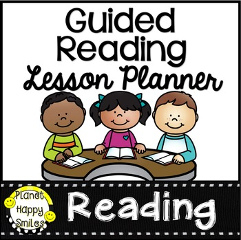 Guided Reading Editable Planner Page
