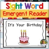 Guided Reading Emergent Reader Birthday Book
