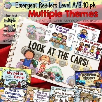 Guided Reading - Emergent Sight-Word Readers and Activity Sets