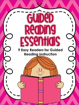 Guided Reading Essentials: 9 Guided Reading Books for Emergent Readers