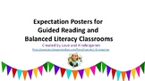 Guided Reading Expectation Charts