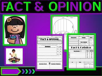 Fact & Opinion: Graphic Organizers