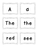 Color Book: Guided Reading Sight Word Flash Cards: Red