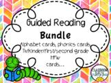 Guided Reading Bundle (Flashcards)