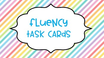 Guided Reading Fluency
