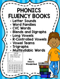 Phonics Bundle: Reading Fluency Booklets