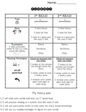 Guided Reading Fluency Self-Assessment