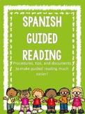 Guided Reading Folders-  English- Spanish- Editable