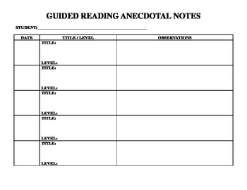 Reading Group Notes 69
