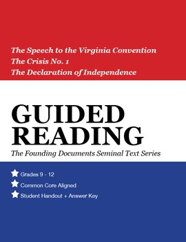 Guided Reading: Founding Documents Bundle