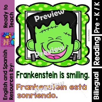 Guided Reading - Frankenstein´s Feelings/Los Sentimientos de  Frankenstein-Dual