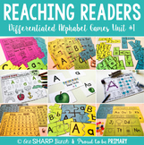 Guided Reading Alphabet Games  | Distance Learning
