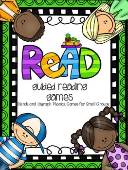 Guided Reading Games (Blends & Digraphs)