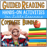 Guided Reading Activities & Games K-2 Print & Go COMPLETE BUNDLE