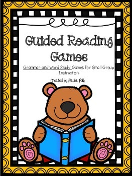 Guided Reading Games (Grammar Edition)