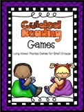 Guided Reading Games Long Vowels
