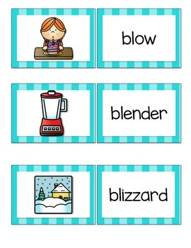 Guided Reading {Get It Together} Picture Sorts {Blends}