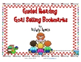 Guided Reading Goal Setting Bookmarks-FREEBIE