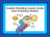 Guided Reading Goal Setting and Goal Tracking Sheets K-6 (