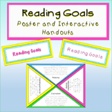 Guided Reading Goals Poster and Interactive Handouts - rainbow