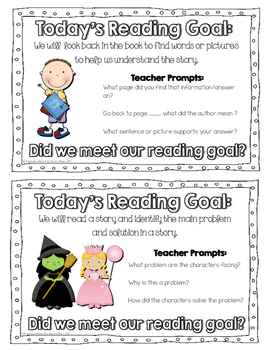 Guided Reading Goals for K-2