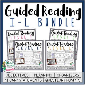 Guided Reading Bundle - Levels I-L