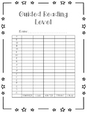 Guided Reading Graph