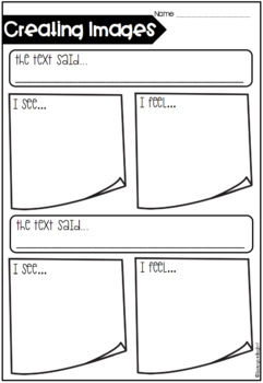 Guided Reading Graphic Organisers