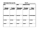 Guided Reading Group Lesson Plan