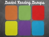 Guided Reading Group Organization