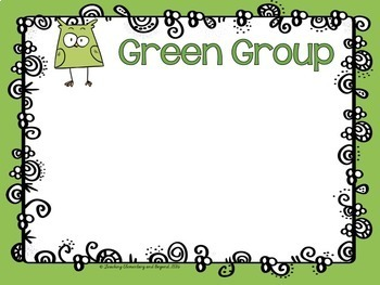 Guided Reading Group Posters: Owl Theme