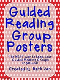 Guided Reading Group Posters--Primary Colors