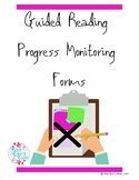 Guided Reading Group Progress Monitoring Form with Fluency Rubric