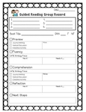 Guided Reading Group Record