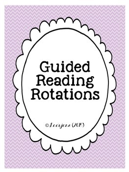 Guided Reading Group Rotations Management System