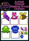 Guided Reading Group display charts - Animals