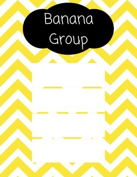 Guided Reading Groups (Chevron)