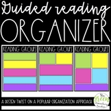 Guided Reading Groups Organizer